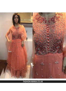 PINKISH Designer Gown 4