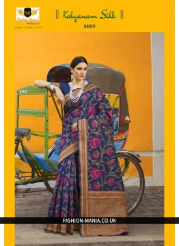 Handloom weaving Silk Saree 88001