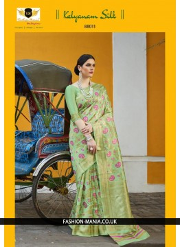 Handloom weaving Silk Saree 88011
