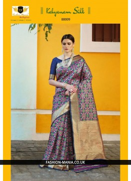 Handloom weaving Silk Saree 88009
