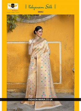 Handloom weaving Silk Saree 88002