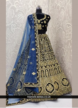 Dashing Lehenga Choli For Mehndi