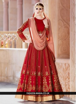 Ethnic Patch Border Work Lehenga Choli