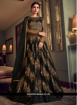 Glorious Embroidered Anarkali Salwar Suit