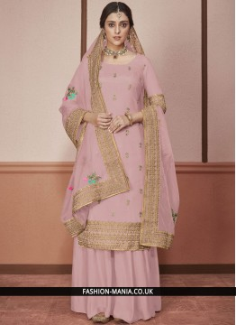 Miraculous Embroidered Anarkali Salwar Kameez