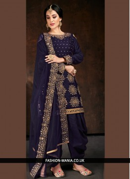 Perfervid Cotton Designer Patiala Suit