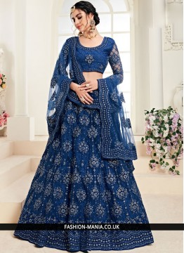 Suave Embroidered Trendy A Line Lehenga Choli