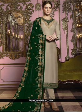 Sunshine Embroidered Festival Churidar Suit